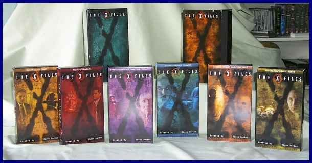 [X-Files US Video boxed set]